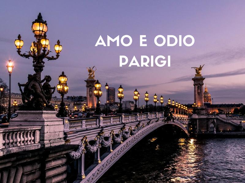 Amo E Odio Parigi