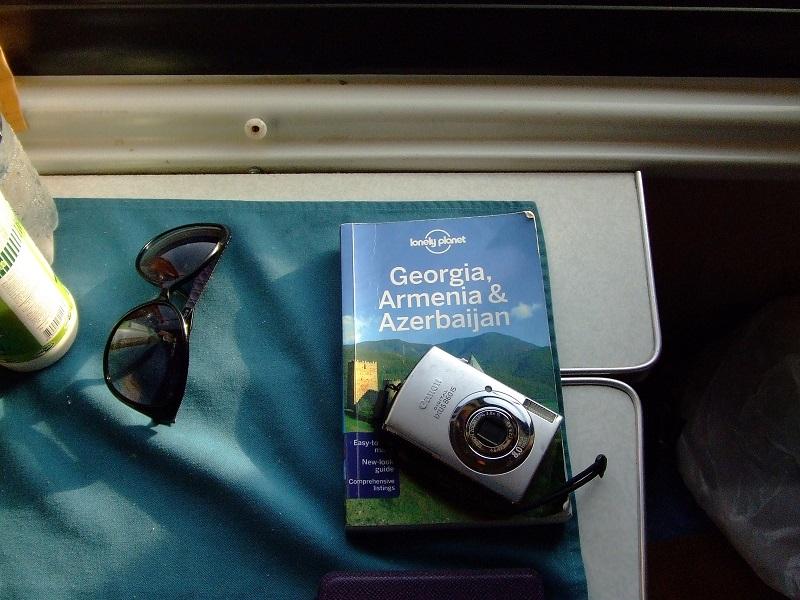viaggi in treno Giorgia, Armenia, Azerbaijan