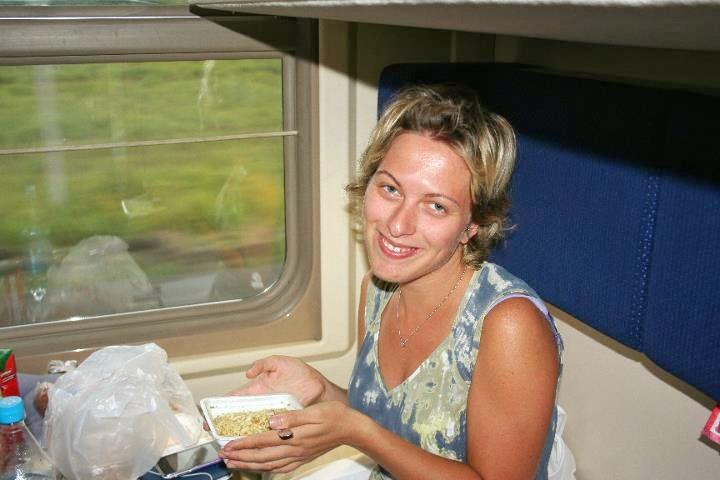 Elena viaggio in treno Transiberiana