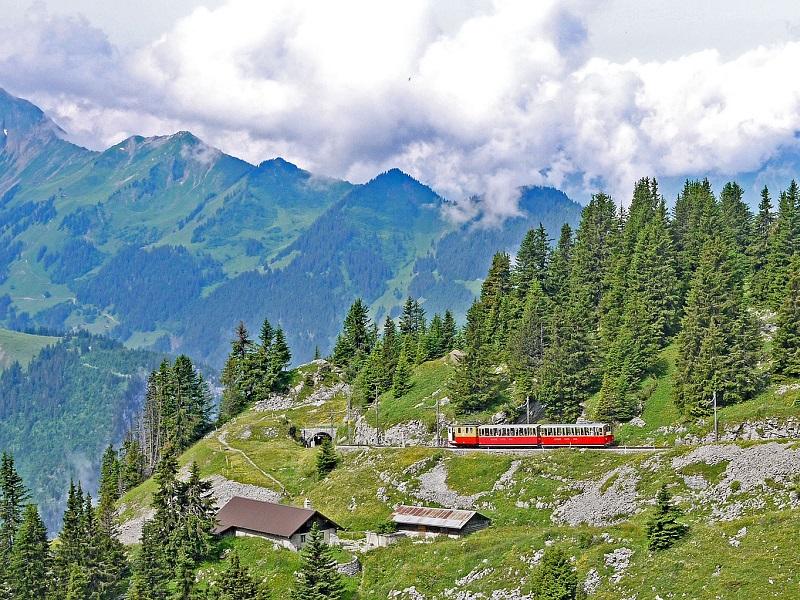 Portale viaggi in treno - Jungfrau, Svizzera